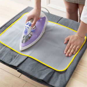 1pc Protective Press Mesh Ironing Cloth Guard Protect Delicate Garment Clothe OH