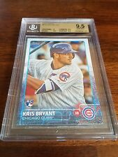 2015 Topps Kris Bryant Chicago Cubs Rookie Card #616 BGS 9.5 Gem Mint (AYC)