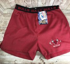 Vintage Bottom Drawers by College Concepts Chicago Bulls Boxers Shorts size M