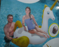 Bestway 41107 Pegasus Extra großes riesiges Schwimmtier 2,20x1,95m Badespaß