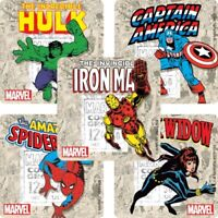 Avengers Stickers x 5 - Birthday Party - Favours Loot - Marvel Comics - Style 2