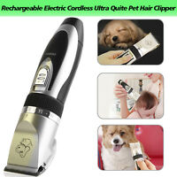 Pet Cat Dog Fur Hair Low-noise Remover Professional Clipper/Trimmer/Shaver Kit*