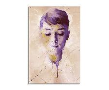 90x60cm_-PAUL SINUS- Splash Art Audrey Hepburn Schauspielerin Geschenkidee