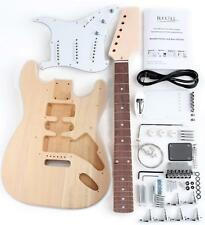 DO IT YOURSELF ELECTRIC GUITAR KIT ST STYLE HOME MADE DIY COMPLETE SET HAND MADE
