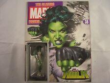 Eaglemoss Marvel Figurine Collection She Hulk with magazine 38
