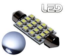 1 Ampoule navette Habitacle plafonnier C5W 36 mm 36mm 16 LED SMD Blanc pur