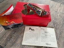 Just The Right Shoe By Raine - Heart and Sole #25221 2001 Coa Box