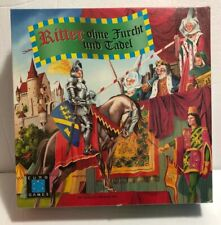 KNIGHTS: BRAVE & BOLD (Ritter Ohne Furcht und Tadel) Board Game (Euro Games) NEW