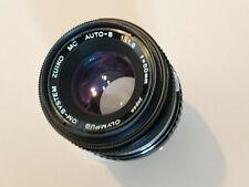 Olympus OM Zuiko 50mm f1.8 lens with Beschoi OM-FX Adapter (use on Fujifilm x)