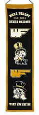 NCAA Football WAKE FORREST DEMON DEACONS College Wimpel Pennant Banner Heritage