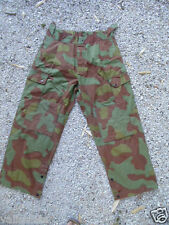 ITALIE ANNEES 50 ? PANTALON CAMOUFLE GRANDE TAILLE IDEAL AIRSOFT RECONSTITUTIONS
