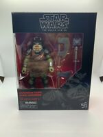 Star Wars Black Series Gamorrean Guard 6-inch Action Figure In Hand