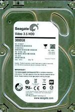 SEAGATE  3TB  ST3000VM002, 1F316N-300,  SC25,   TK,  Z310
