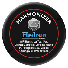 Hedron Harmonizer For Larger Electronic Devices Emf Emr Shield Radiation Sticker
