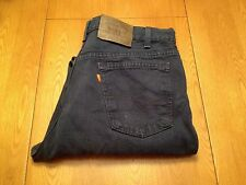 MENS VINTAGE LEVIS 555 RELAXED FIT STRAIGHT ORANGE TAG JEANS 35 X 30 USA NICE!