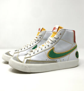 Nike Blazer Mid 77 (GS) -Youth Size 4.5Y DD9528-100 Shoes Rayguns White/Gold