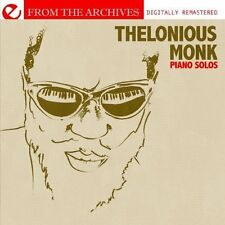 Thelonious Monk - Piano Solos - from the Archives [New CD] Manufactured On Deman