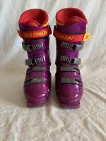 Salomon Racing Integral Equipe R Purple Ski Boots 335/26.5 Flex 120