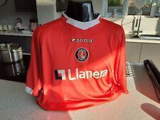 Authentic Match Worn Jason Euell #9 Premier League Charlton Football Shirt Home