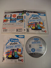 uDraw Studio Instant Artist (Disc & Manual Only) No Tablet for PS3 & THQ