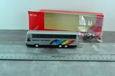 Herpa SETRA S215 Coach Bus Simply The Best 1:87 HO Scale