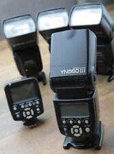 Yongnuo Yn560Iii Flash Kit With 4 Strobes And Yn560Tx. No Reserve!