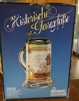 Clear Glass German Beer Stain