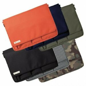 6 Colors Lihit lab. Carrying Pouch Smart Fit A4 13 inch Thin Laptop From Japan