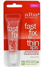 Alba Botanica Fast Fix For Thin Lips Instant Lip Plumper Enhancer Stimulates Lip