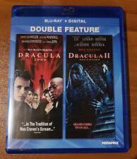 Dracula 2000 and Dracula 2: Ascension (Blu-ray Disc) Omar Epps - No Digital