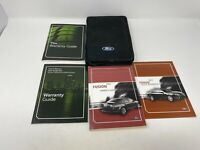 2011 Ford Fusion Owners Manual Handbook Set with Case OEM Z0B0591
