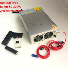 CO2 laser power Supply 220V for 80W to 200W Tube 100W, 130W,150W General Type
