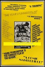 "Original 1974 YOUNG FRANKENSTEIN Rare Style 40"" x 60"" ROLLED"
