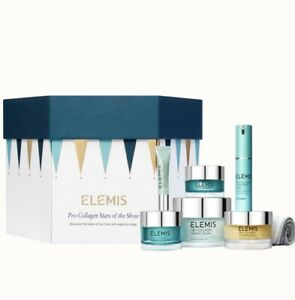 ELEMIS Pro-Collagen Marine Cream+Overnight Matrix+Super Serum Elixir+Eye Revive