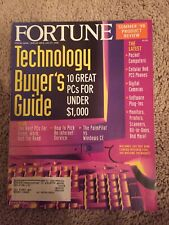 Fortune, July 27, 1998, Tecnology Buyer's Guide, 10 Great PCs For Under $1,000