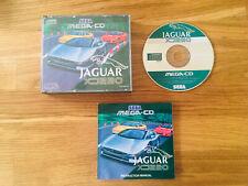 Jaguar XJ220 for Sega Mega CD - Complete with Manual UK PAL Version