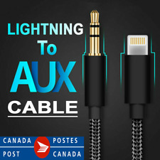 Lightning to 3.5mm  Audio AUX Cord Cable For Apple iPhone 11 Pro XS Max XR 8 7 X