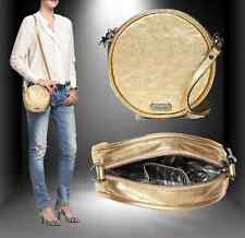 MIMCO METEOR CIRCLE CROSS BODY HIP BAG GOLD LEATHER +D'BAG  rrp$299 NOW $114.99