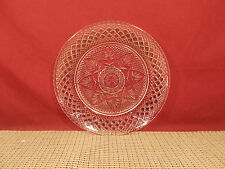 """Cristal d'Arques Crystal Antique Clear Pattern Luncheon Plate 8"""""""