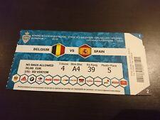 TICKET Belgium - Spain 2016
