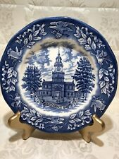Avon Independence Hall Bicentennial Plate Special Edition Wedgwood England 1976