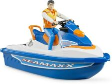 Bruder #63150 Personal Water Craft Jet Ski with Figure - New Factory Sealed