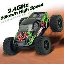 1:32 4CH 2WD 2.4GHz Mini RC coche de carreras off-road Camión Vehículo Remoto Juguete pa
