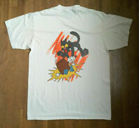 New Vintage 1992 ITCHY & SCRATCHY heavy cotton t shirt gildan reprint