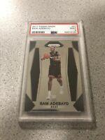 2017 Panini Prizm #51 Bam Adebayo Miami Heat Rookie Card RC PSA 9 Mint