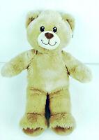 "Build-A-Bear Tan Teddy Plush Stuffed Animal Toy Doll Light Brown BABW 16"""