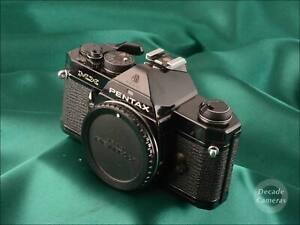 Black Pentax MX 35mm Film Camera - VGC - 1367
