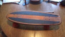 """Vintage Skateboard 70's Stokin' Oak Newporter w/ Pipeline Wheels 7x24"""""""