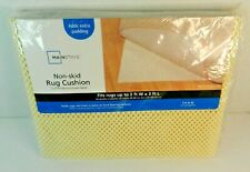 MainStays Non-Stick Rug Cushion. 2' × 3' Ivory. New in Package.