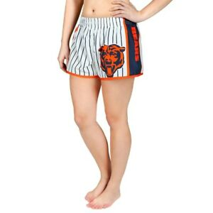 Forever Collectibles NFL Women's Chicago Bears Pinstripe Shorts